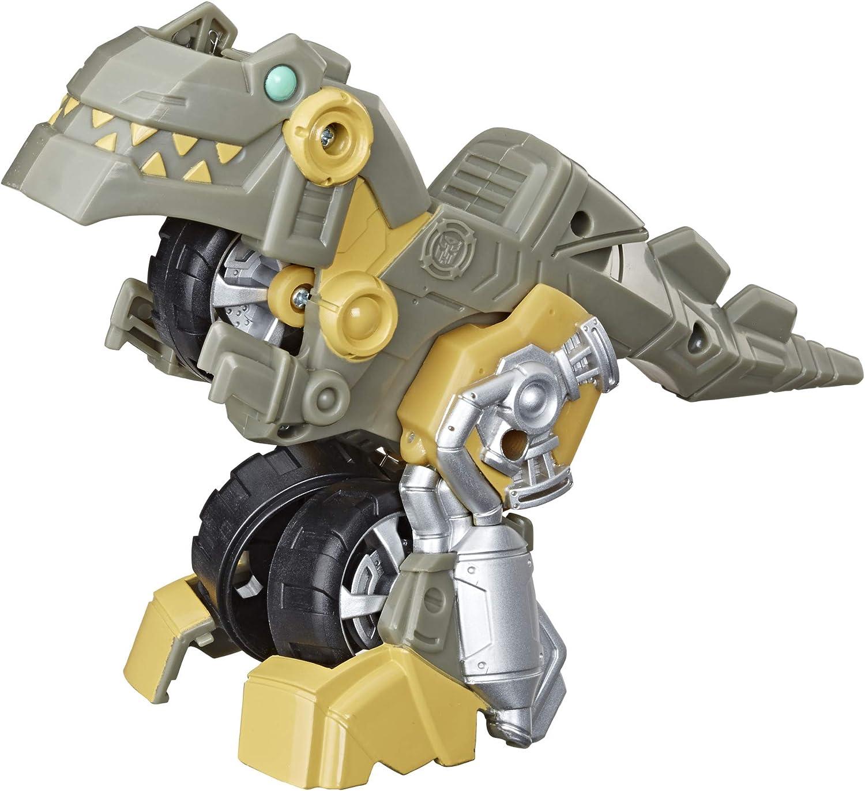Transformers Playskool Rescue Bots Academy - Robot de Cocina Grimlock de 11 cm, Juguete transformable 2 en 1