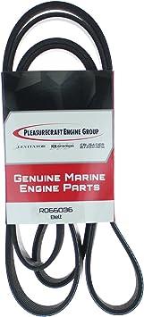 Pleasurecraft Drive Belt Set RP066001//8