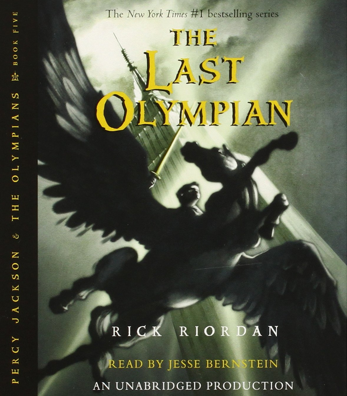 Percy Jackson and the Olympians books 1-5 CD Collection (Percy Jackson & the Olympians) by Listening Library (Audio) (Image #7)