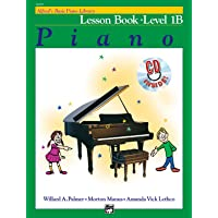 Alfred's Basic Piano Course Lesson Book, Bk 1B (Book & CD)