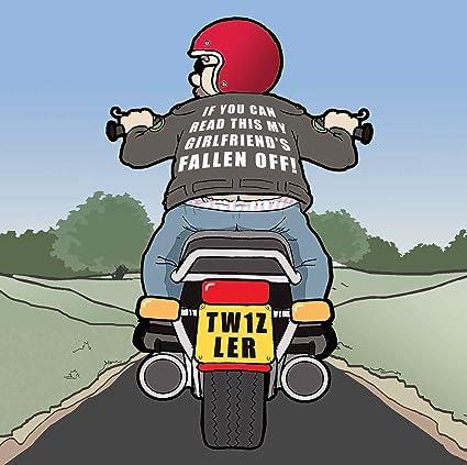 Twizler Carte Humoristique Avec Moto Et Lost Girlfriend Carte Vierge Carte D Anniversaire Humour Carte Fete Des Peres Card Carte De Fete Des Meres Carte D Anniversaire Amazon Fr