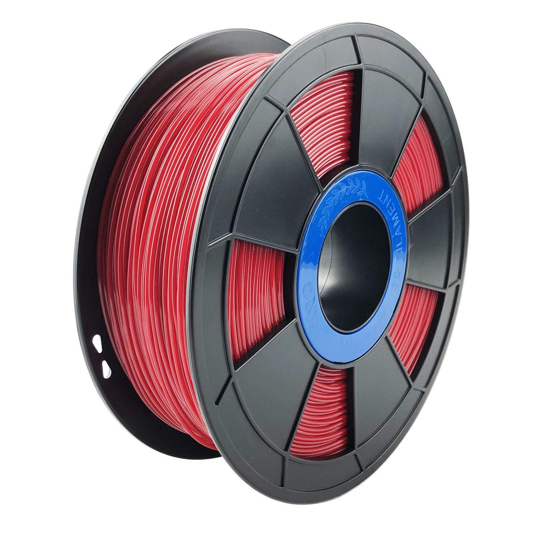 Dimensional Accuracy +//- 0.03mm,Black ZIRO 3D Printer Filament PETG 1.75 1KG 2.2lbs