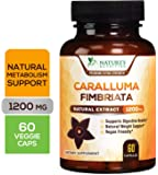 Caralluma Fimbriata Extract High Potency 1200mg - Natural Support for Metabolism & Endurance, Made in USA, Best Vegan Diet Pills Supplement for Men & Women, Non-GMO - 60 Capsules