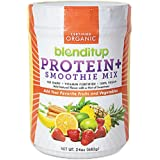 Organic Vegan Protein Powder Unflavored - Gluten Free, Dairy Free, GMO Free - Smoothie Mix - Nutritional Supplements - Kosher Food - Soy Protein Isolate - No Eggs - 24Oz