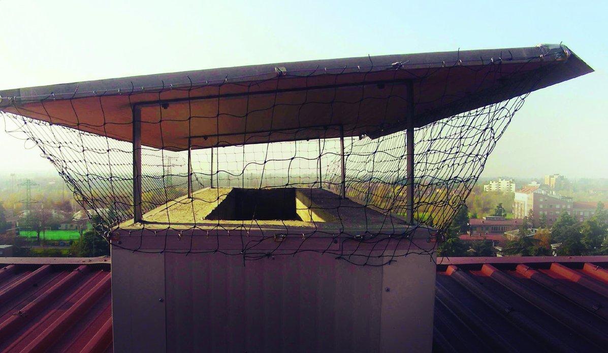 Taubenabwehrnetz 5 x 5 Meter Komplettset