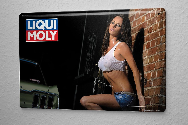 LEotiE SINCE 2004 Cartel De Chapa Chica Sexy Camisa mojada ...