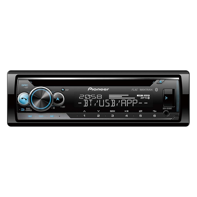 Pioneer DEH-S510BT CD-Tuner mit Bluetooth, USB und AUX-Eingang fü r Apple iPod/iPhone Direktsteuerung (1-DIN) Schwarz