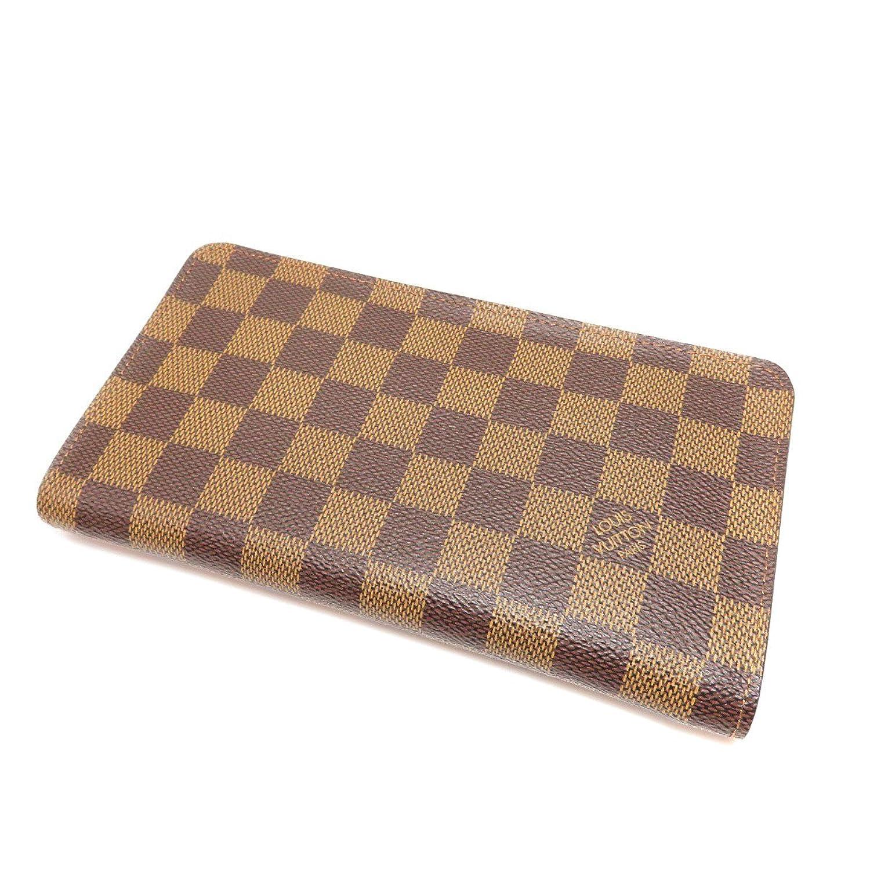 [ルイヴィトン]ポルトモネジップ 長財布(小銭入れあり) ダミエキャンバス レディース (中古) B07FDV95KK  -