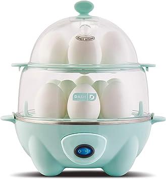 Amazon.com: Dash Deluxe - Cocina rápida para huevos: 12 ...