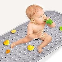 Sheepping Baby Bath Mat Non Slip Extra Long Bathtub Mat for Kids 40 X 16 Inch - Eco Friendly Bath Tub Mat with 200 Big…