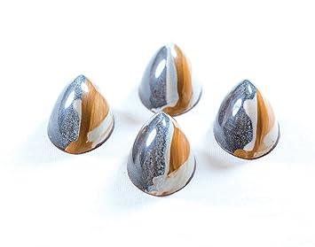 Cuña de tejer de Pavoni estriada de policarbonato Chocolate Bombones molde, 21 cavidades: Amazon.es: Hogar