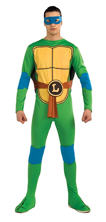 Amazon.com Nickelodeon TMNT Adult Leonardo Costume and Accessories Costume Clothing  sc 1 st  Amazon.com & Amazon.com: Nickelodeon TMNT Adult Leonardo Costume and Accessories ...