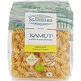 Sgambaro Khorasan Kamut Fusilli, No. 93 - 500 gr - [confezione da 8]