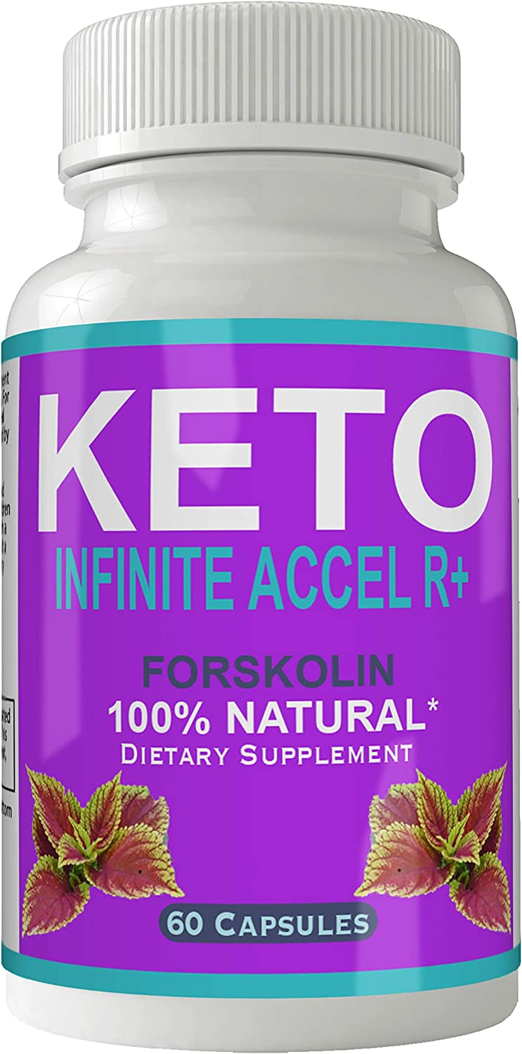 Keto Infinite Accel R+ Forskolin for Weight Loss Supplement Pills Ultra Formula with 250mg High Quality Natural Forskolii Extract Appetite Suppressant Tablets Boost Metabolism