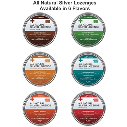 Original All Natural Silver Throat Lozenges – A Silver Bullet
