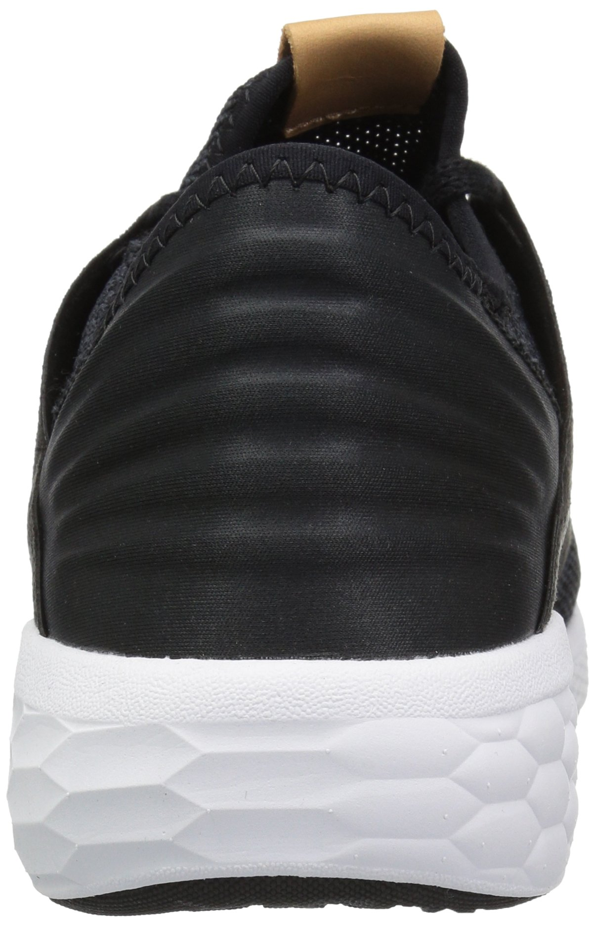 New Balance Men's Cruz V2 Fresh Foam Running Shoe, black/white, 7 D US by New Balance (Image #2)