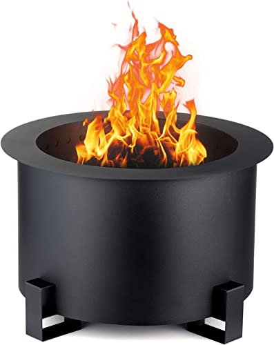 TITIMO Smokeless Fire Pit