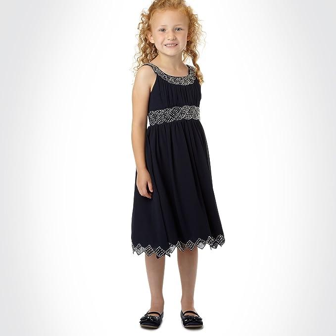 d046c38f3 TIGER LILY - Vestido - para niña azul azul 11 años: Amazon.es: Ropa ...