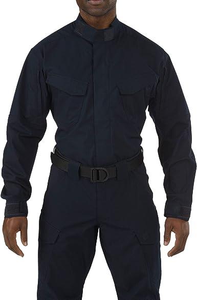 5.11 Tactical Series – Camisa táctica Stryke TDU Mixta, Unisex Adulto, Color Dark Navy, tamaño XS: Amazon.es: Ropa y accesorios