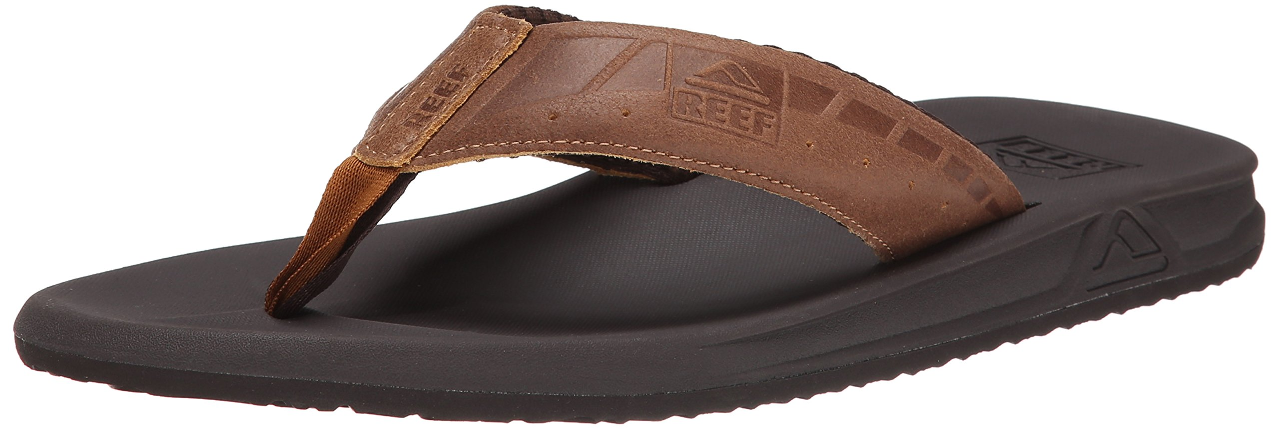 Reef Men's Phantom LE Sandal, Brown/Tan, 12 M US