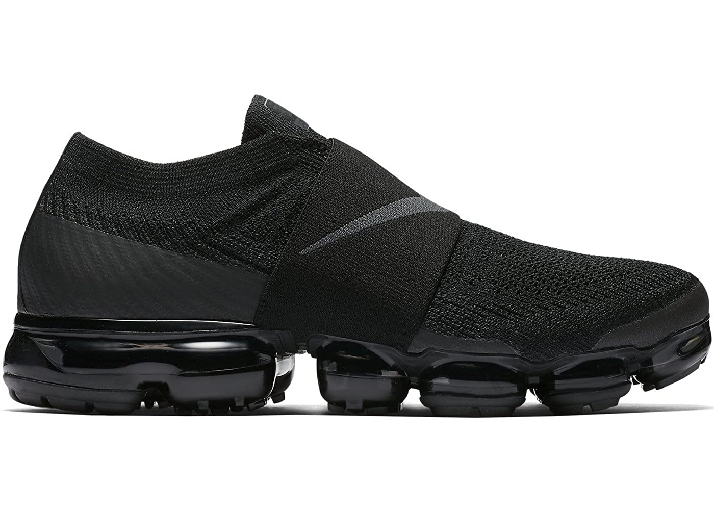 5a27bf69bbd Nike Air Vapormax Flyknit Moc Triple Black Anthracite 7.5 UK 42 EUR   Amazon.co.uk  Shoes   Bags