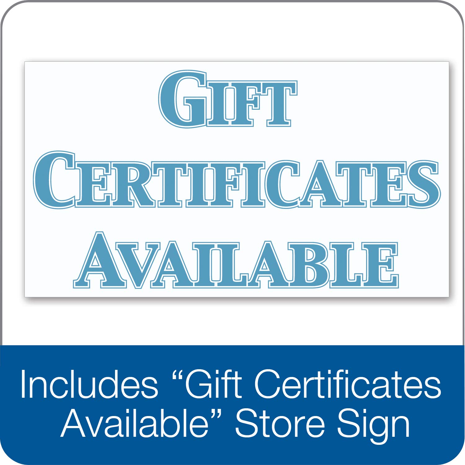 adams gift certificate cards 20 folded cards and envelopes 6 25 x