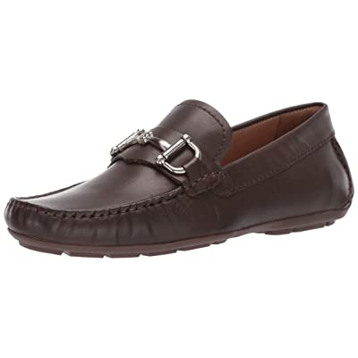 Driver Club USA Mens Genuine Leather Made in Brazil Park Ave Buckle Loafer, brown nappa 10 M US | Loafers & Slip-Ons