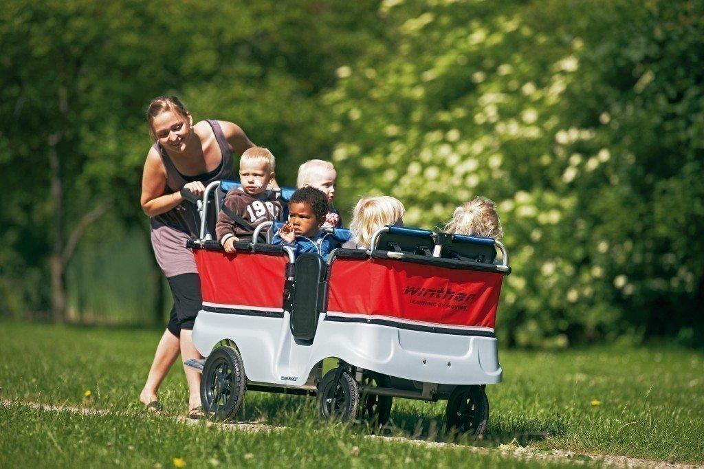 Winther Kinderbus Turtle Zubehör Gepäckkasten für Basic 4 und 6 Sitzer 8815624
