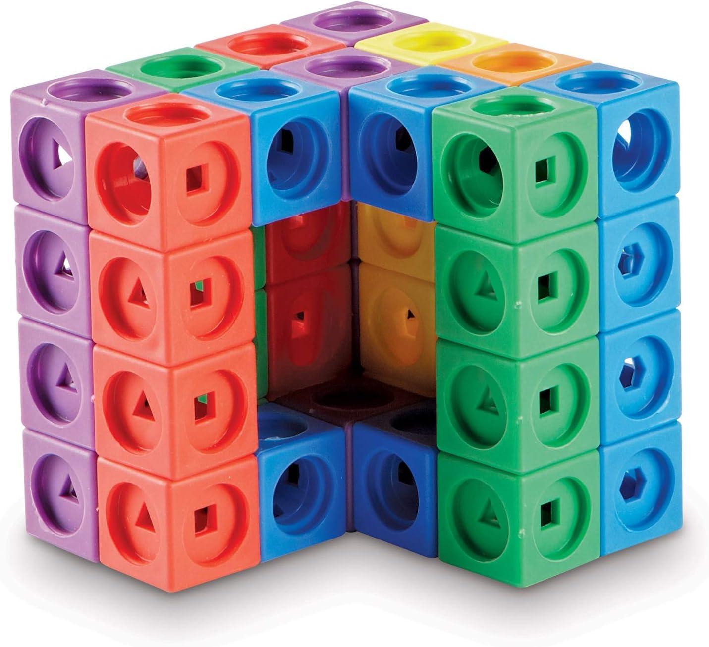 Learning Resources- Juego de construcción Mathlink Builders Stem Explorers, Color (LER9294)