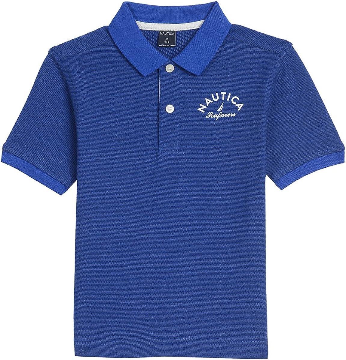 Nautica Varones Camisa Polo - Azul -: Amazon.es: Ropa y accesorios