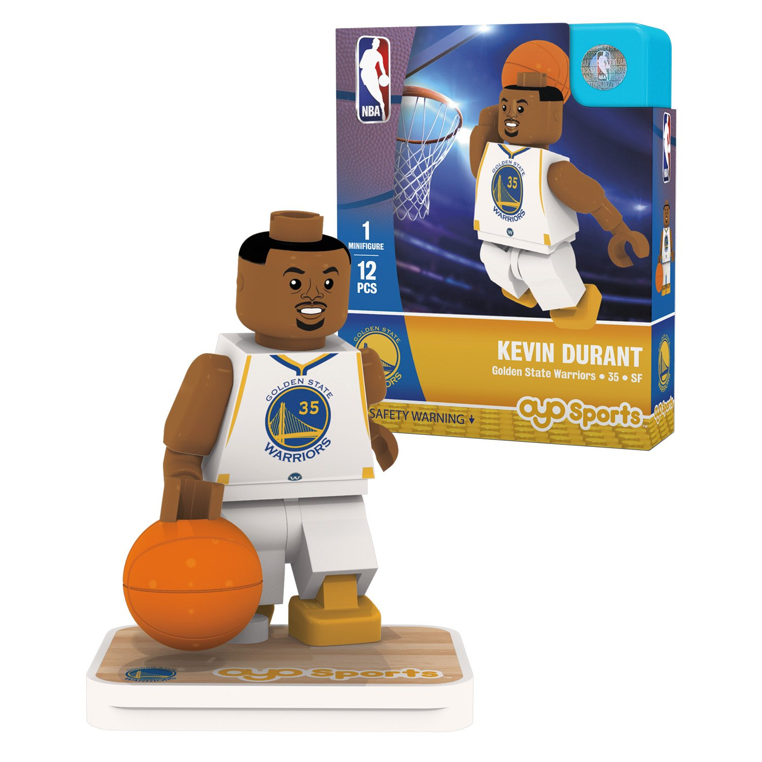 OYO Sports NBA Minifigure Golden State Warriors Kevin Durant