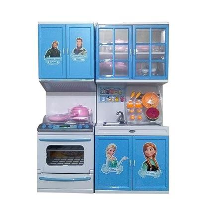 Buy Tabu Toys World Beautiful Frozen Modern Kitchen Set For Girls