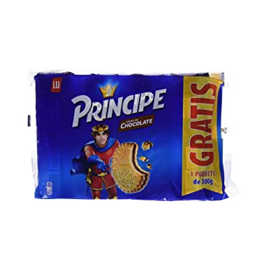 Principe - Galleta Relleno De Chocolate - 2400 g [pack de 2 x 4]