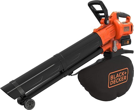 BLACK+DECKER BCBLV3625L1-QW - Soplador aspirador y triturador de ...