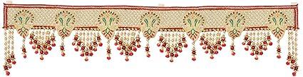 Swadesi Stuff Handmade Door Hanging Bandhanwar Toran (TORAN006, 92 cm x 2 cm x 20 cm)