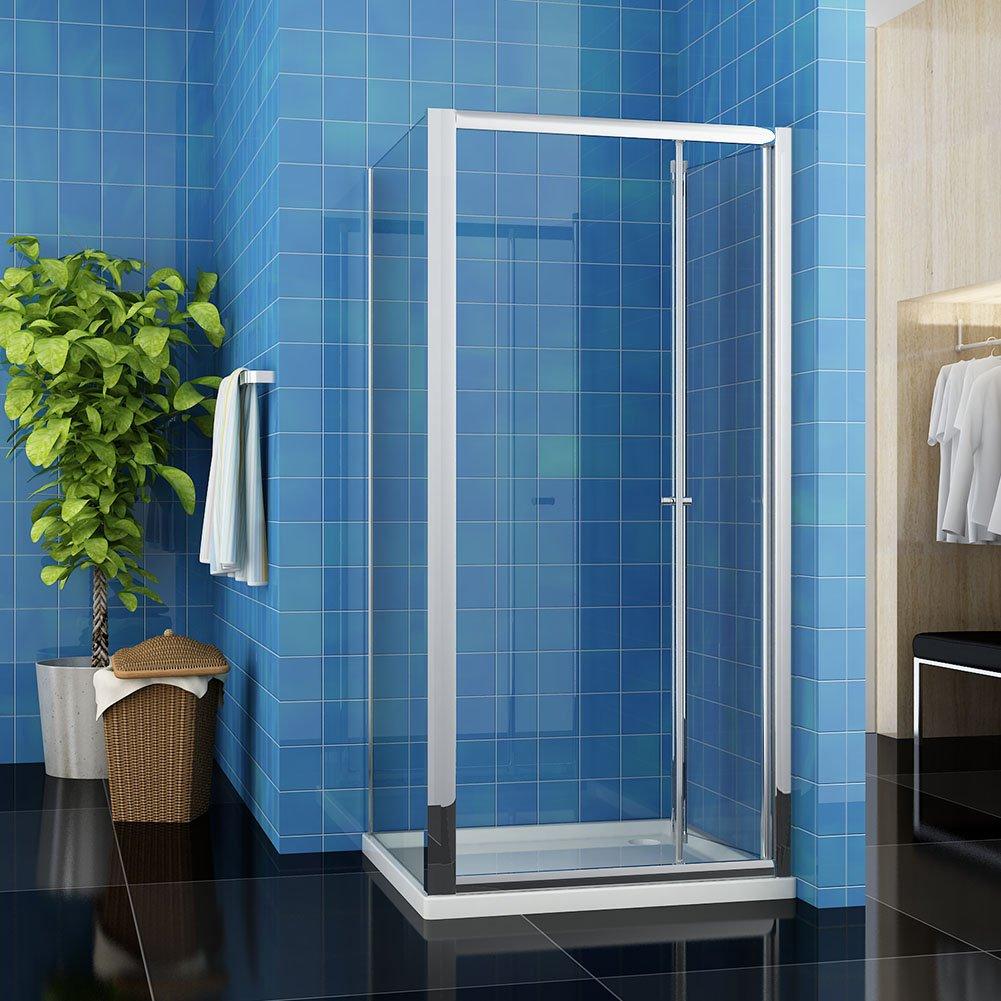 sunny showers 1000 x 800 mm Bifold Shower Enclosure Cubicle Door ...