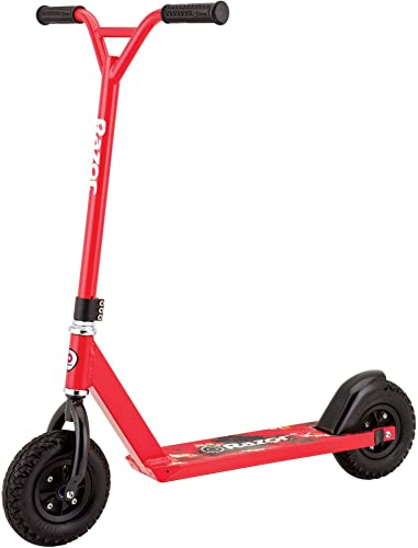 Razor Pro RDS Dirt Scooter, Red Renewed