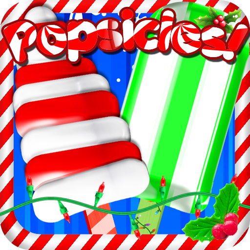 Christmas Ice Popsicles!