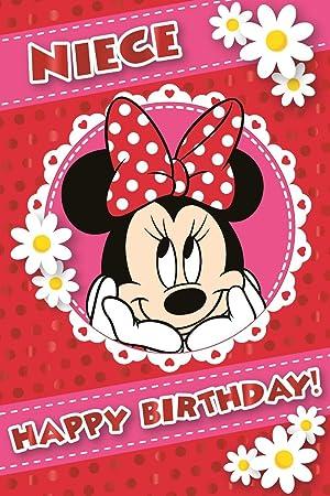 Minnie Mouse Birthday Card