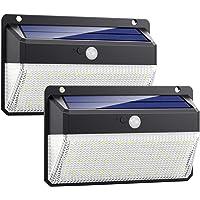 Luz Solar Exterior 108LED, Kilponen Foco Solar Exterior con Sensor de Movimiento Lámpara Solar Impermeable Gran Ángulo…