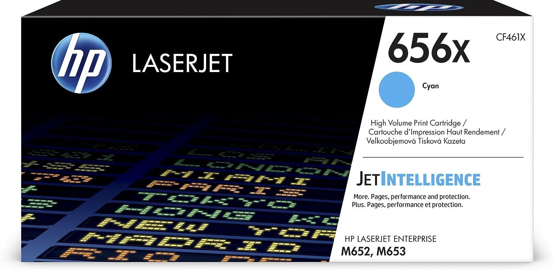 HP 656X | CF461X | Toner Cartridge | Cyan | High Yield