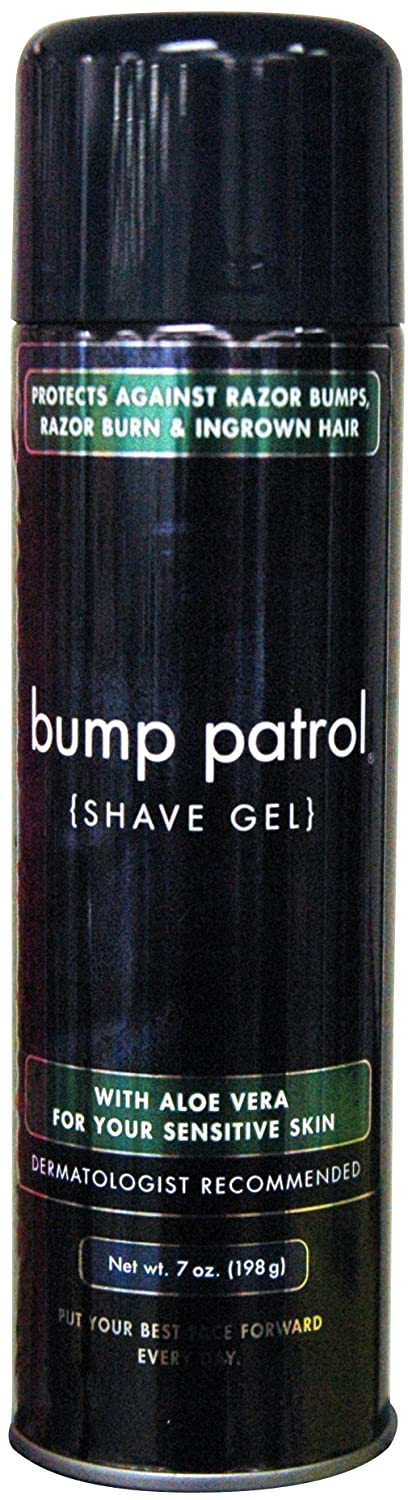 Bump Patrol Shave Gel - with Aloe 7 oz. (Pack of 2)