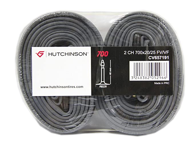 HUTCHINSON Blister 2 camaras 700x20-25 Presta Valvula 48 mm ...