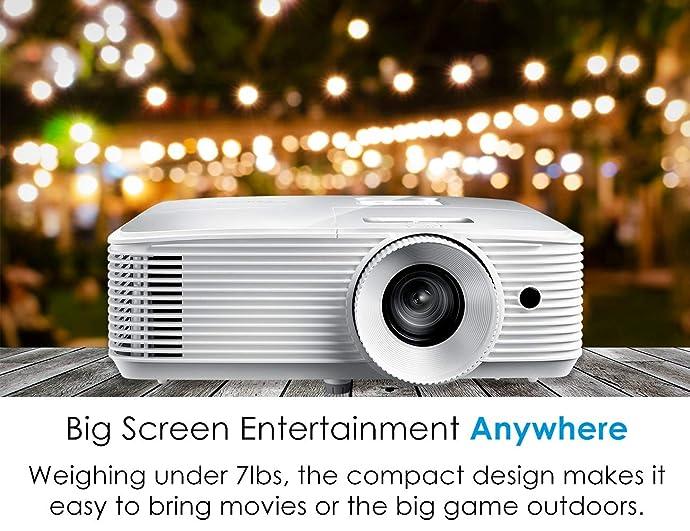 Optoma 奥图码 HD27E 1080P全高清 家庭影院3D家用投影机 6.7折$399史低 海淘转运到手约¥3074