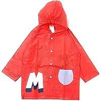 Chubasquero Mickey Mouse para Niños - Impermeable Disney Mickey Mouse Tipo Chaqueta con Capucha y botones
