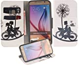Eloiro Samsung Galaxy S6 Case, Ultra Slim Card