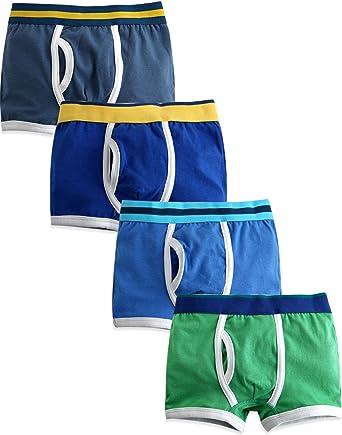 Classic Sports Kids Boxer Shorts Boys Underwear Soft Fabrics Children Briefs