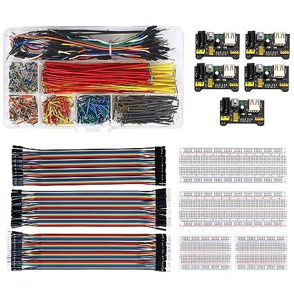 20cm Weiblich Männlich Steckbrett Dupont Jumper Kabel Drähte PCB für Arduino