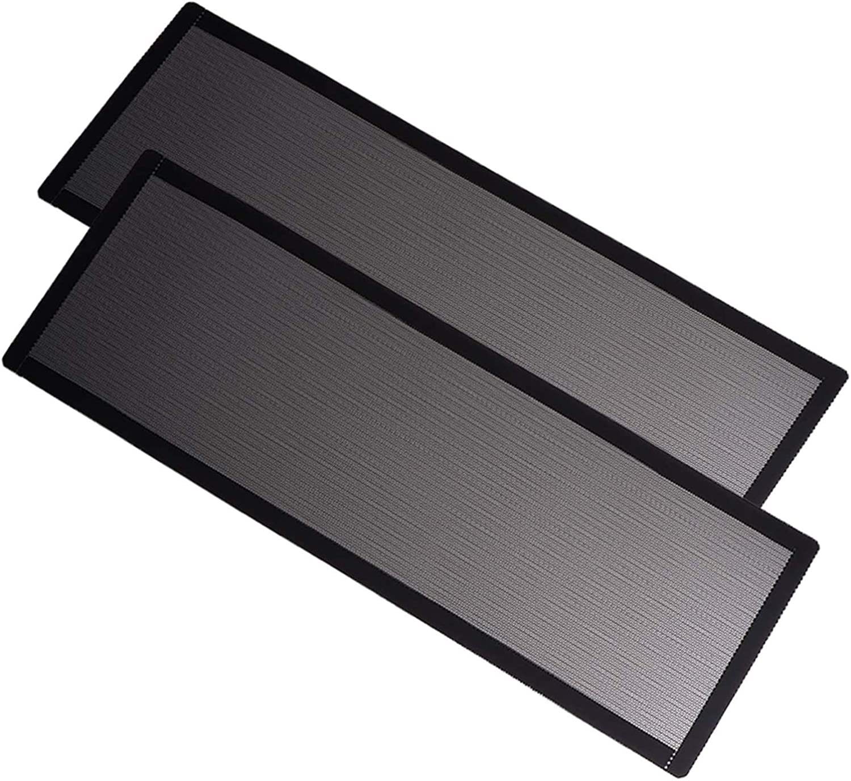 Filtro de malla 360mmX120mm (Pack de 2)