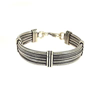 Traditional And Ethnic Oxidised Jewellery Link Bracelet Indian FashionBirthday Gifts For Boyfriend Amazonin